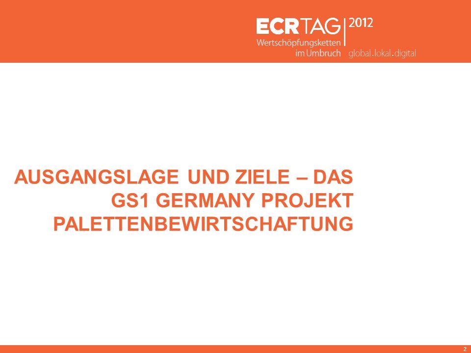 Ausgangslage und Ziele – Das gs1 germany projekt palettenbewirtschaftung