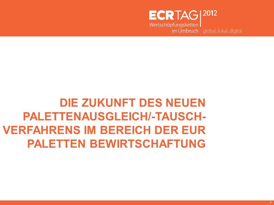 Die Zukunft des neuen Palettenausgleich/-tausch-Verfahrens im Bereich der EUR Paletten Bewirtschaftung
