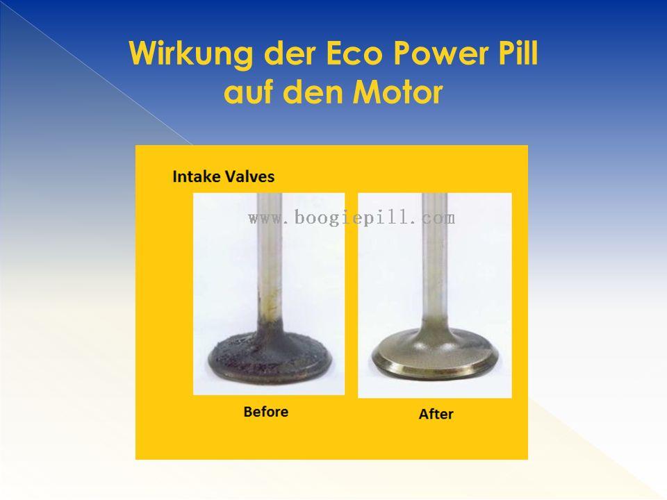 Wirkung der Eco Power Pill auf den Motor