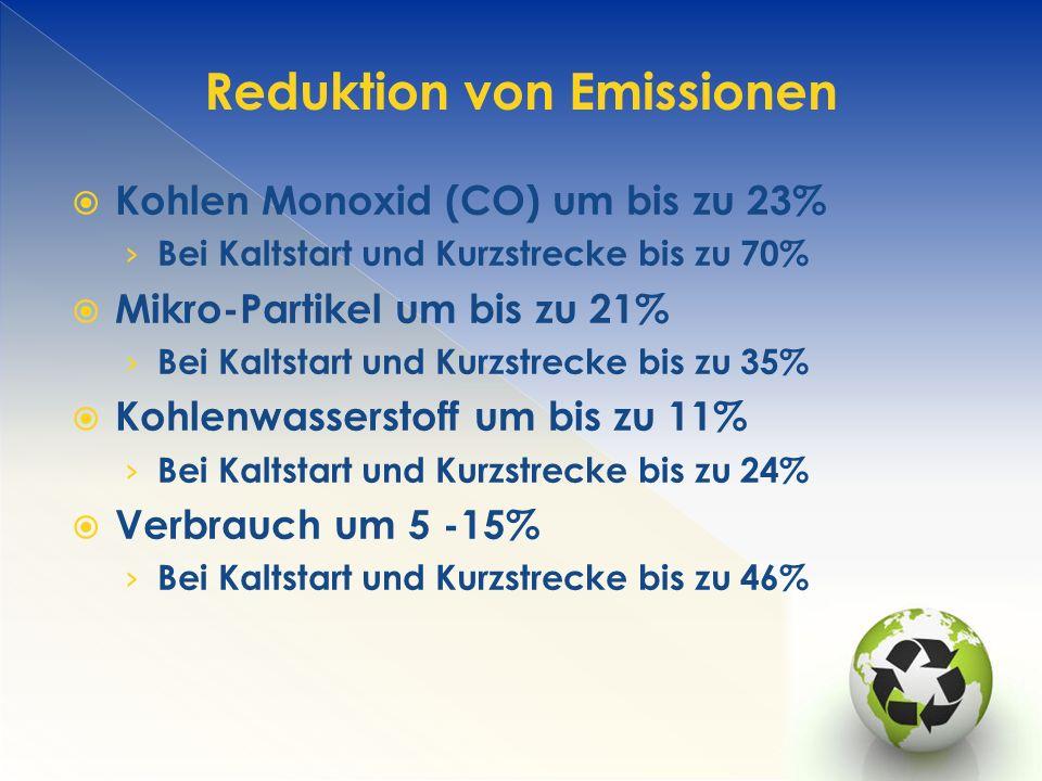 Reduktion von Emissionen