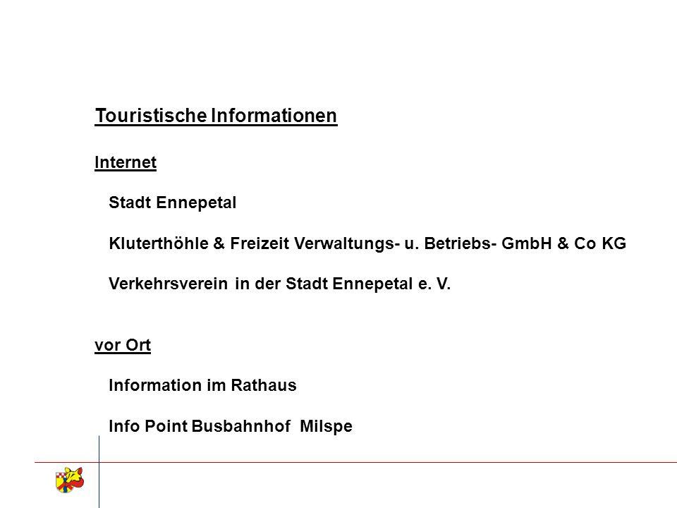 Touristische Informationen