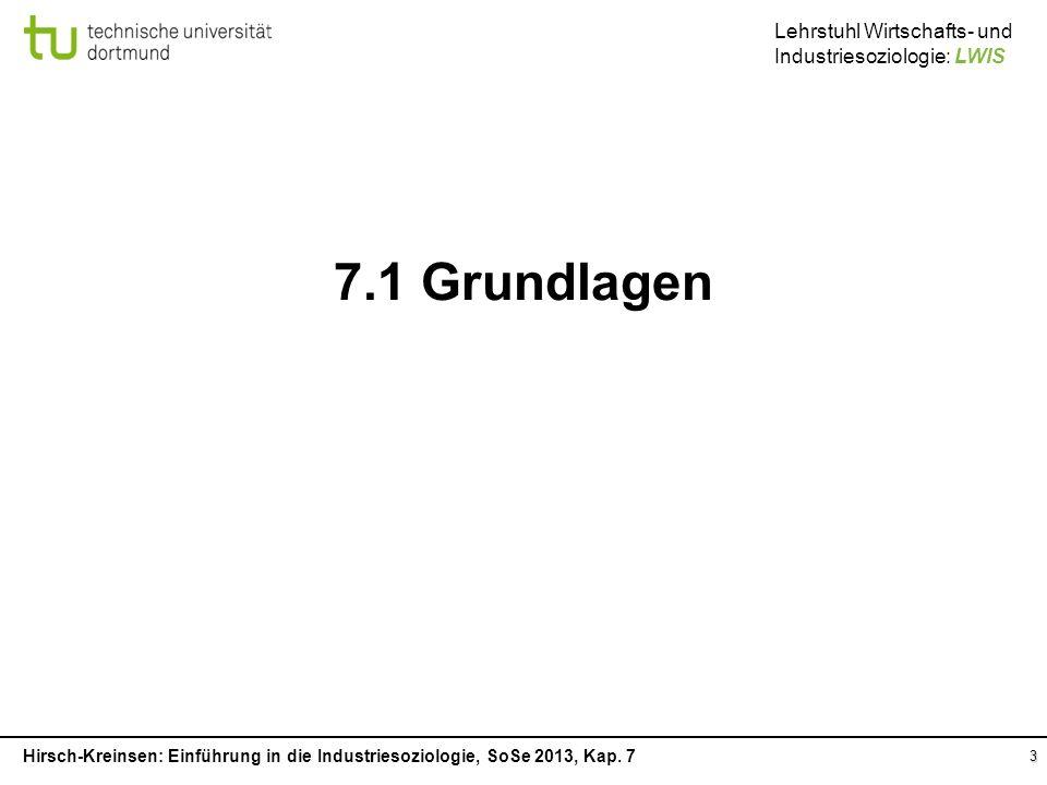 7.1 Grundlagen