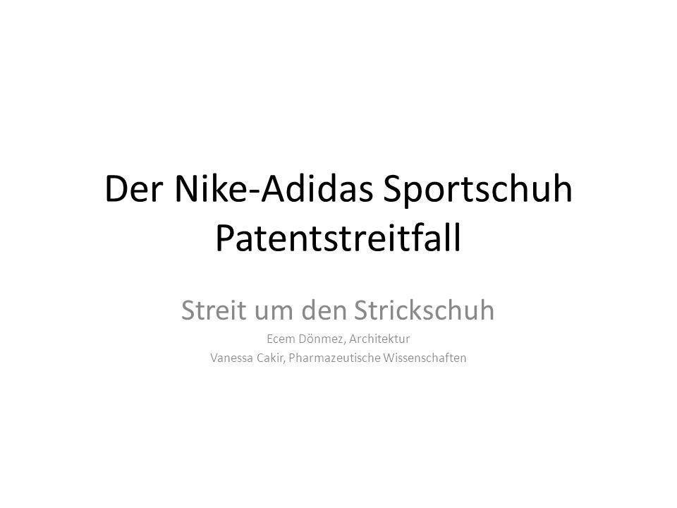 Der Nike-Adidas Sportschuh Patentstreitfall