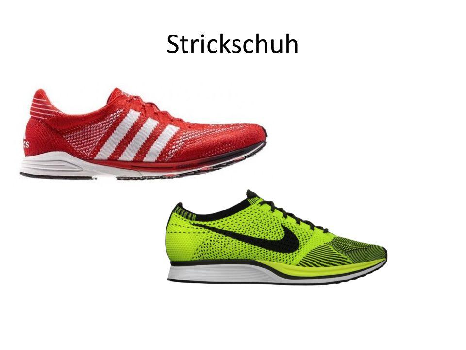 Strickschuh