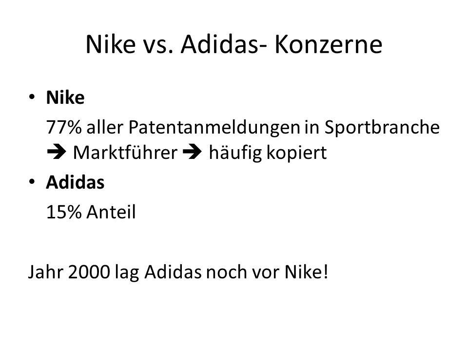 Nike vs. Adidas- Konzerne