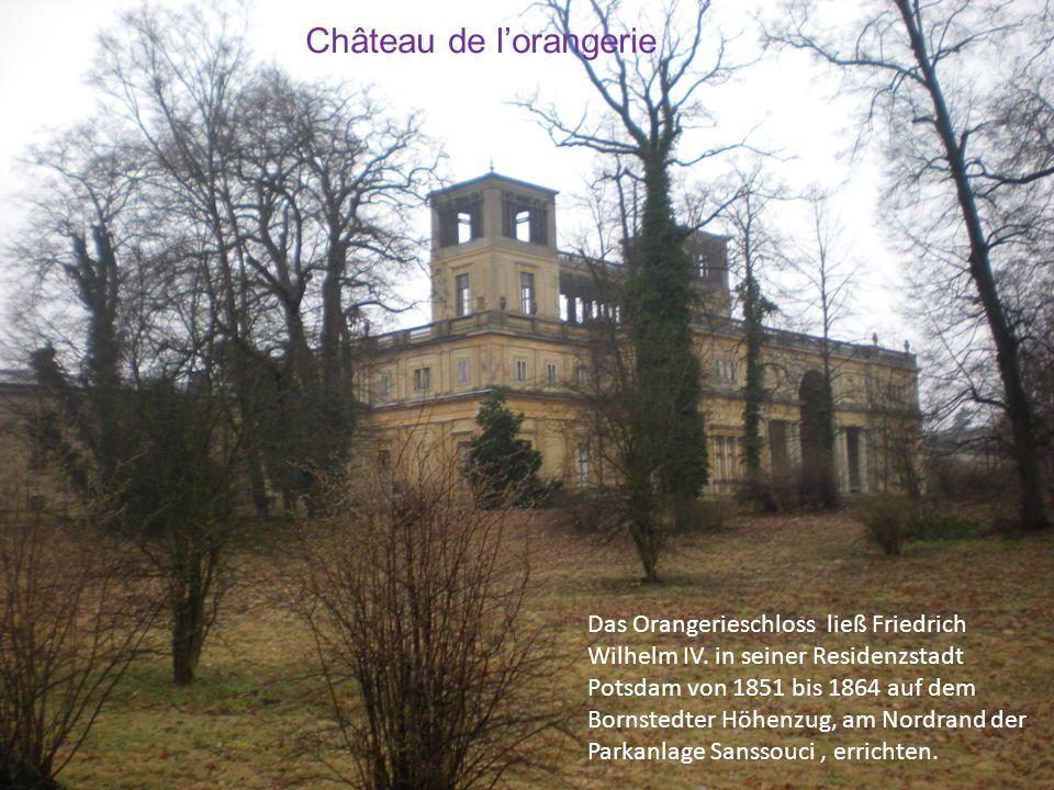 Château de l'orangerie