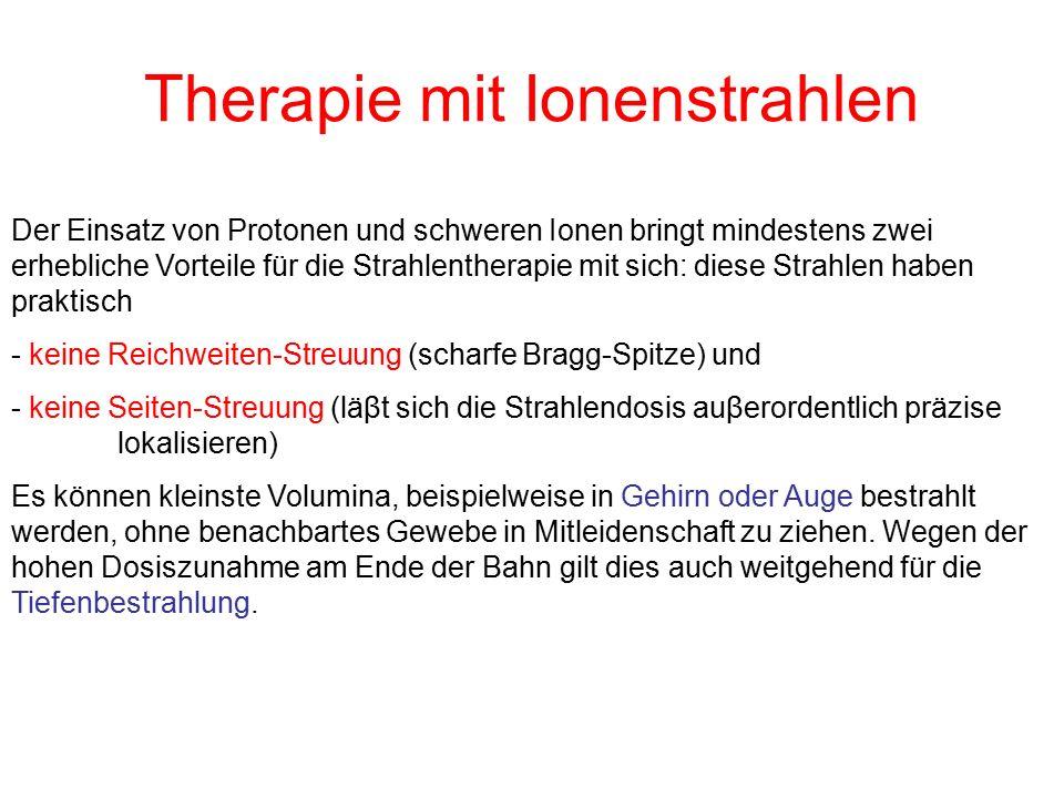 Therapie mit Ionenstrahlen