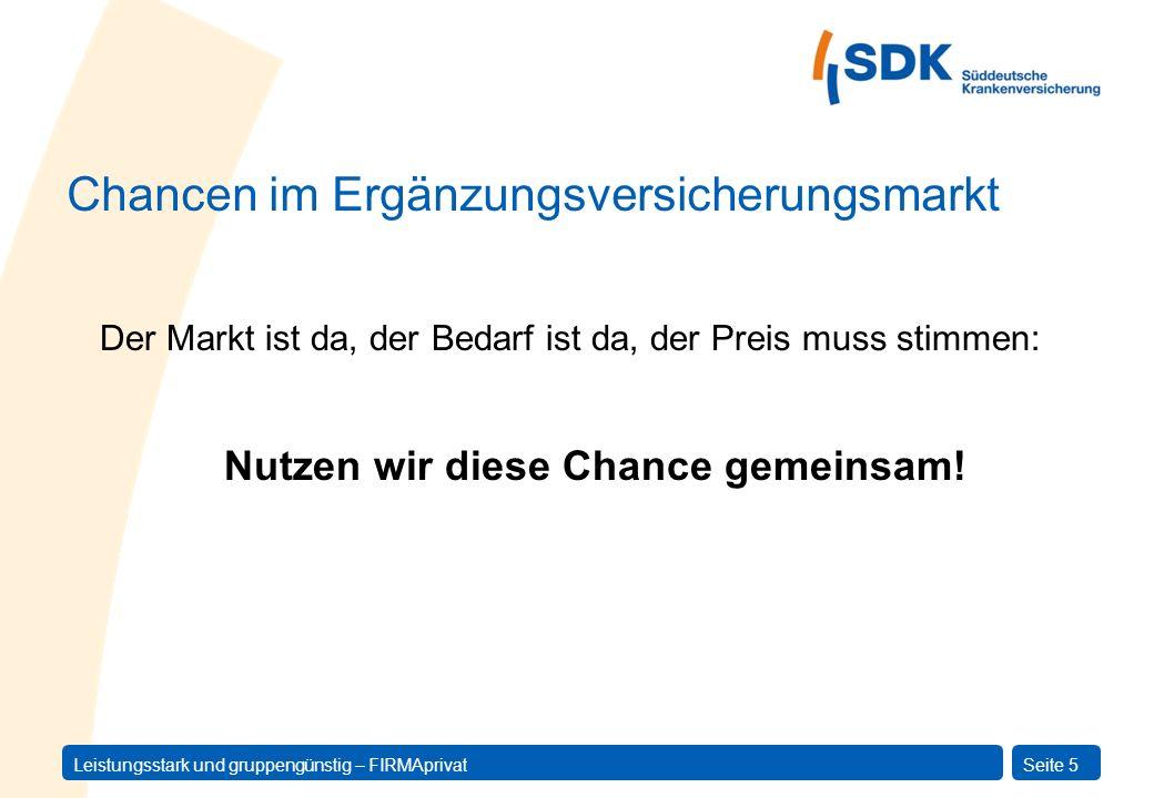 Chancen im Ergänzungsversicherungsmarkt