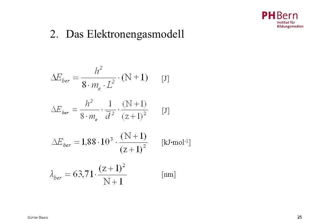 2. Das Elektronengasmodell