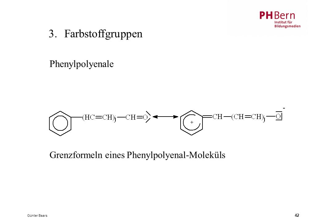 3. Farbstoffgruppen Phenylpolyenale