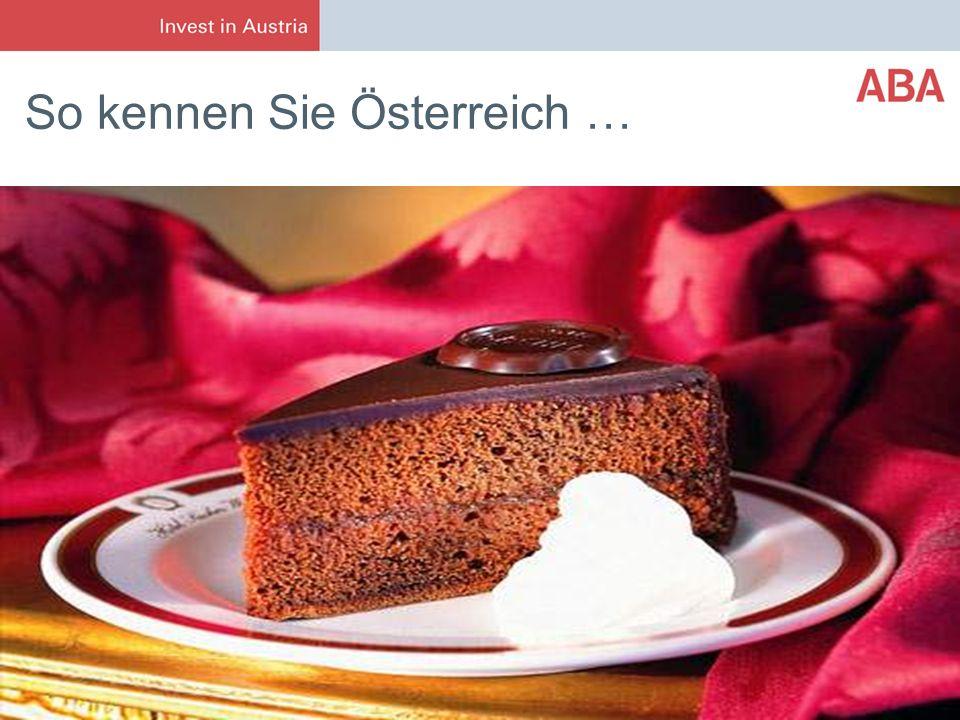 So kennen Sie Österreich …