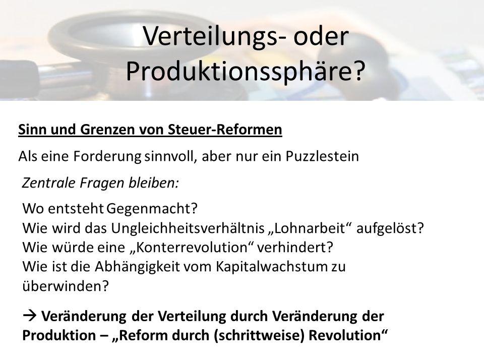 Verteilungs- oder Produktionssphäre