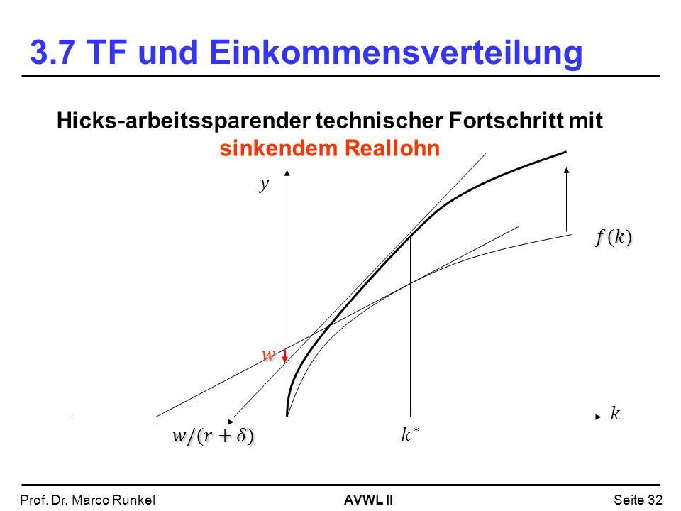 3.7 TF und Einkommensverteilung