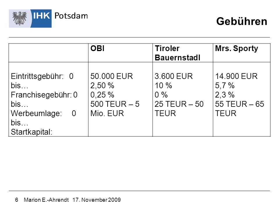 Gebühren OBI Tiroler Bauernstadl Mrs. Sporty Eintrittsgebühr: 0 bis…