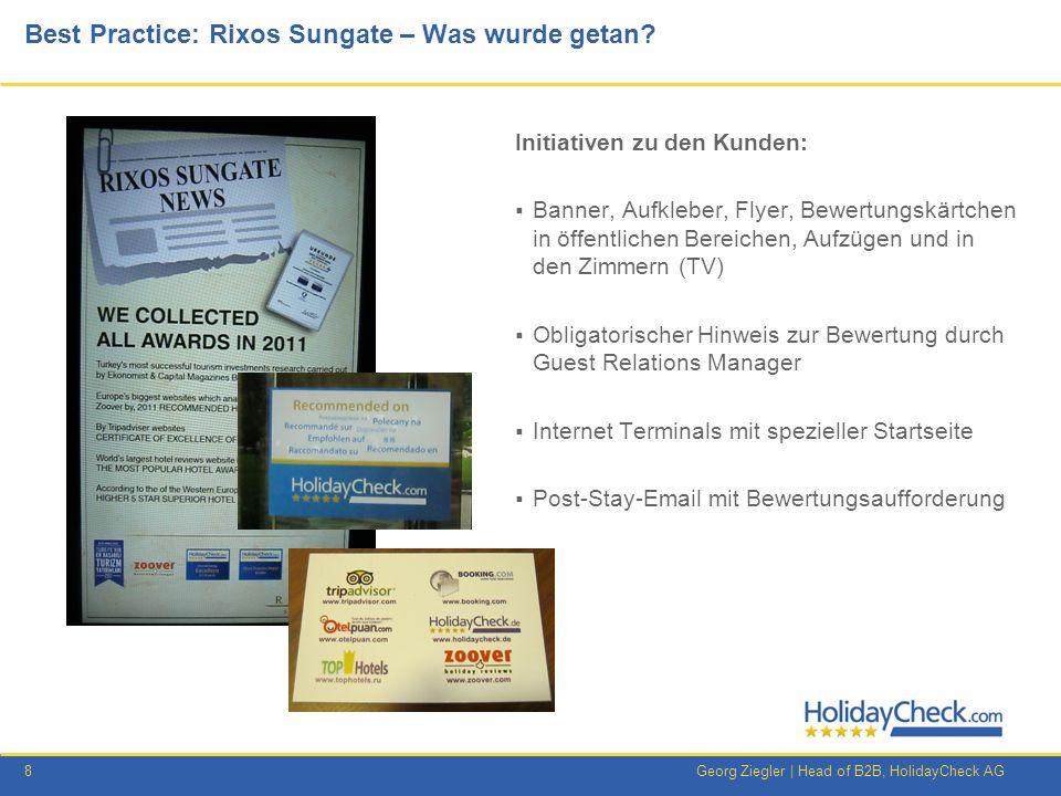 Best Practice: Rixos Sungate – Was wurde getan