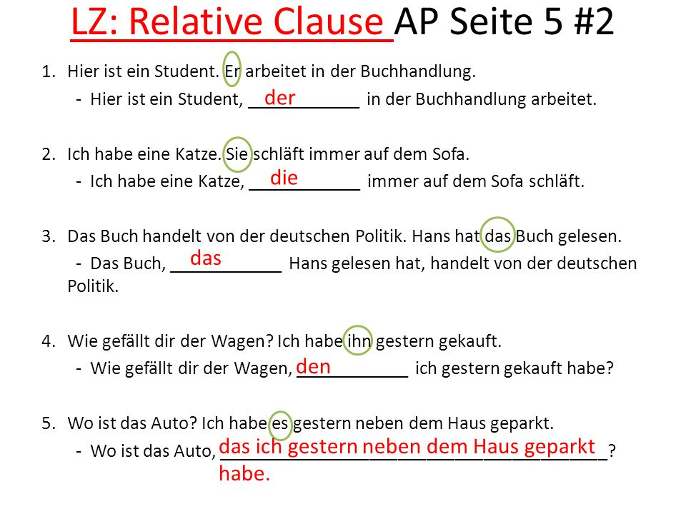 LZ: Relative Clause AP Seite 5 #2