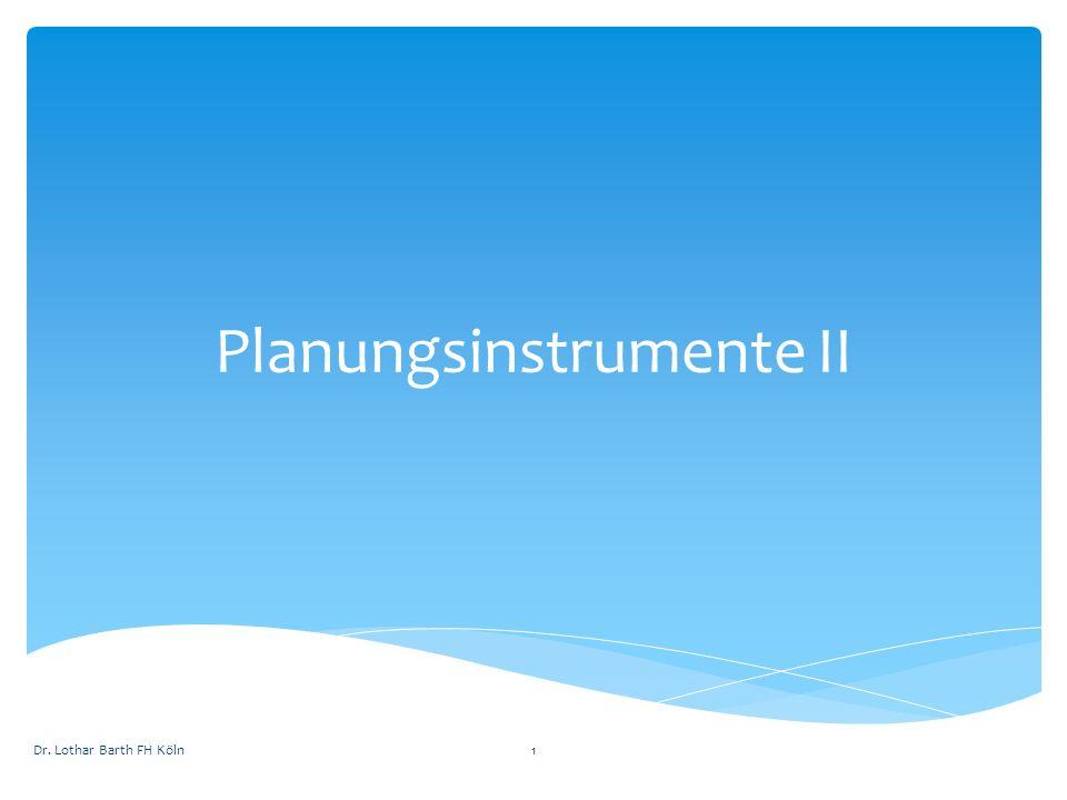 Planungsinstrumente II