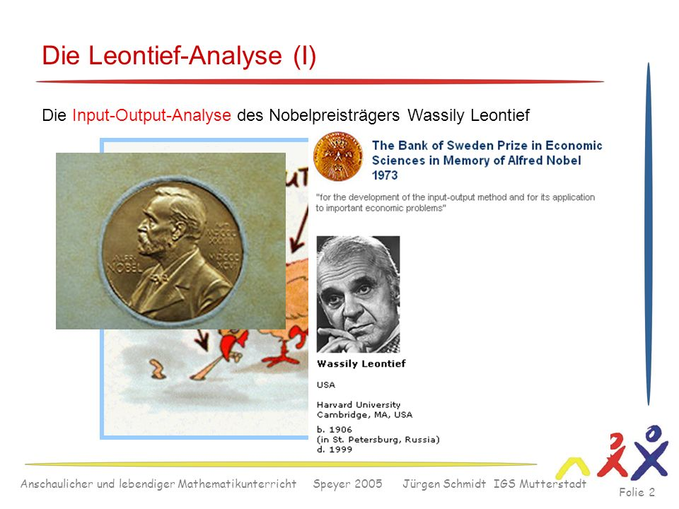 Die Leontief-Analyse (I)