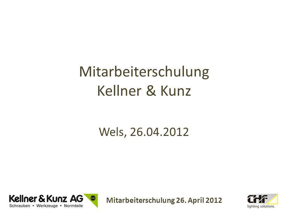 Mitarbeiterschulung Kellner & Kunz