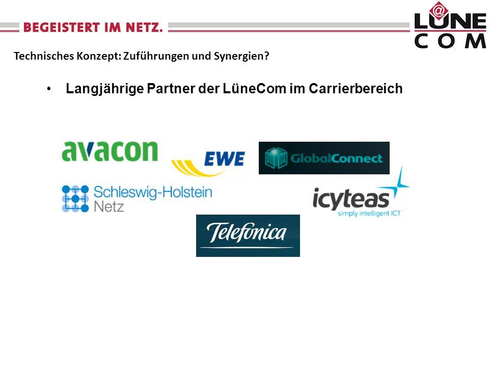 Langjährige Partner der LüneCom im Carrierbereich