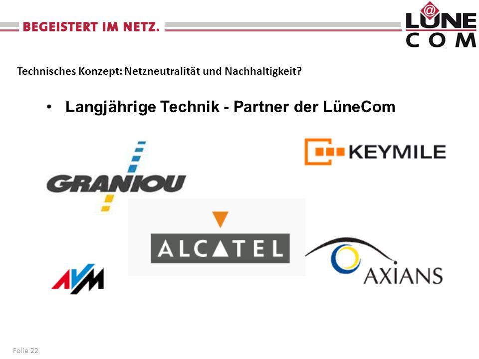 Langjährige Technik - Partner der LüneCom
