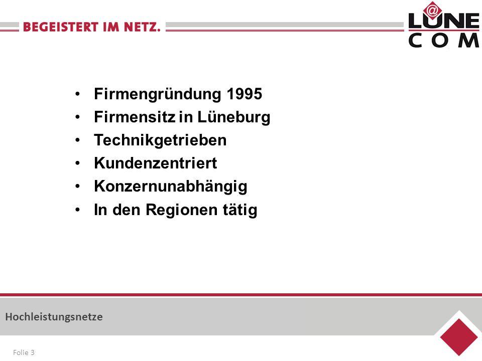 Firmensitz in Lüneburg Technikgetrieben Kundenzentriert
