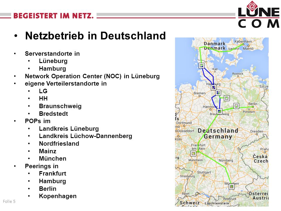 Netzbetrieb in Deutschland