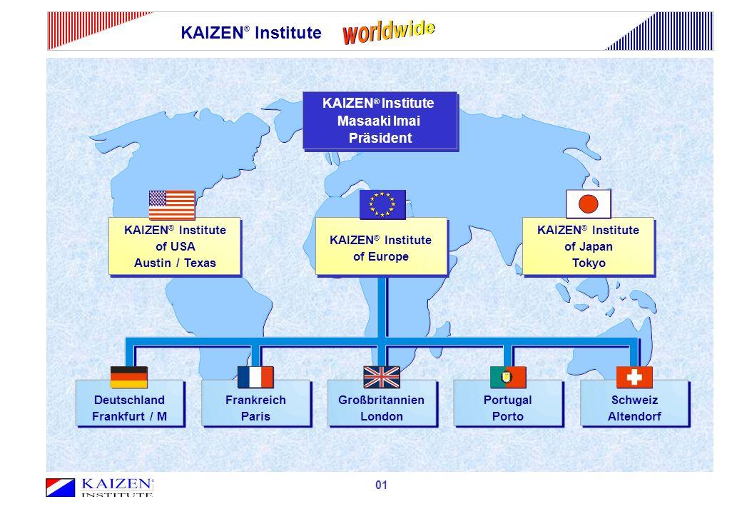 worldwide KAIZEN® Institute KAIZEN® Institute Masaaki Imai Präsident