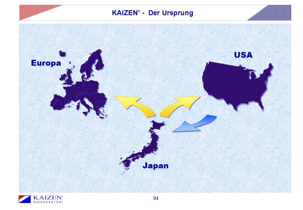 KAIZEN® - Der Ursprung Europa USA Japan 04