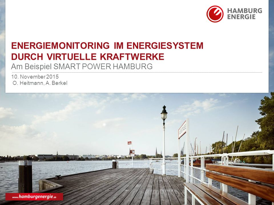 Energiemonitoring im Energiesystem durch Virtuelle Kraftwerke