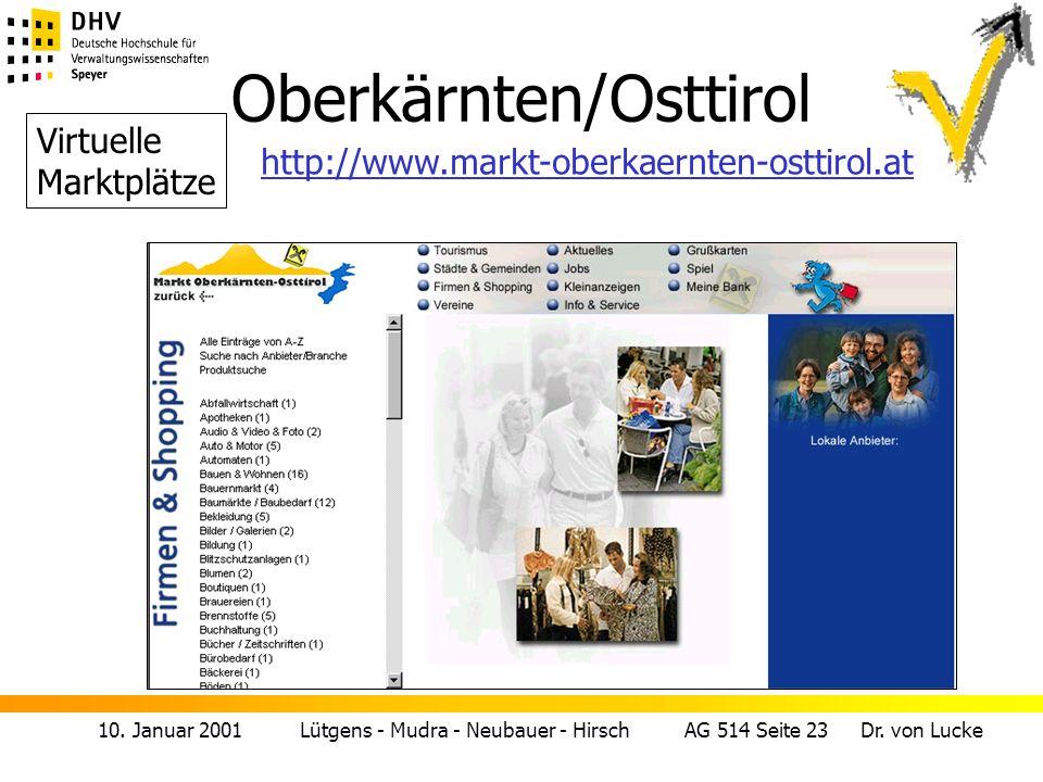 Oberkärnten/Osttirol