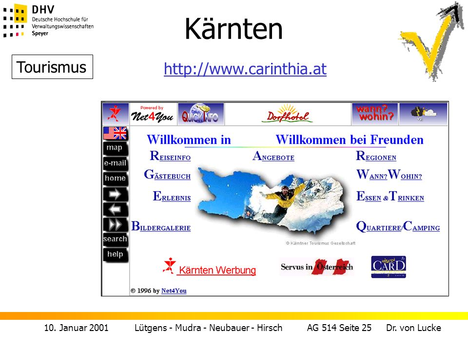 Kärnten Tourismus http://www.carinthia.at