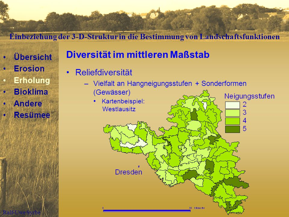 Diversität im mittleren Maßstab