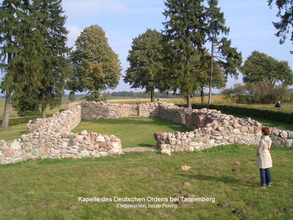 Kapelle des Deutschen Ordens bei Tannenberg (Ostpreussen, heute Polen)