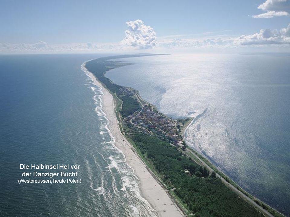 Die Halbinsel Hel vor der Danziger Bucht (Westpreussen, heute Polen)