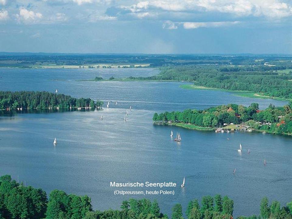 Masurische Seenplatte (Ostpreussen, heute Polen)