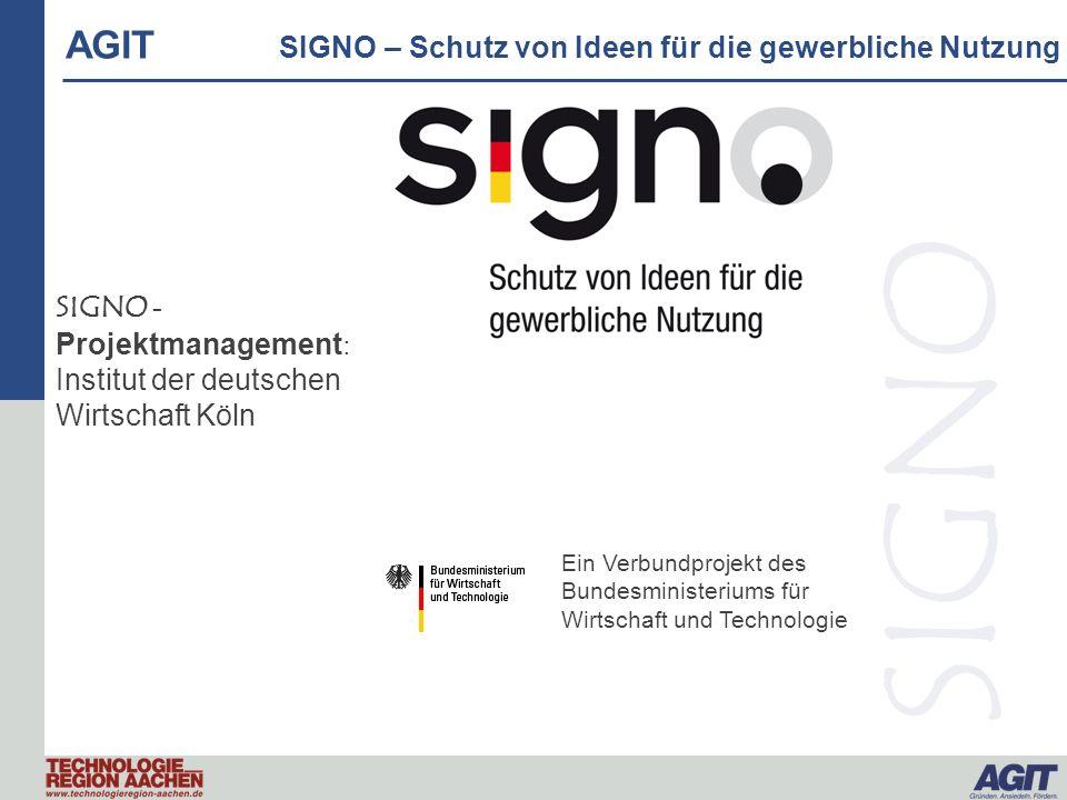 AGIT SIGNO – Schutz von Ideen für die gewerbliche Nutzung