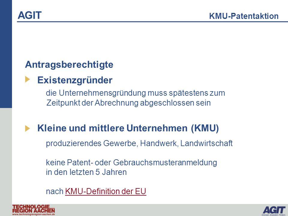 AGIT KMU-Patentaktion