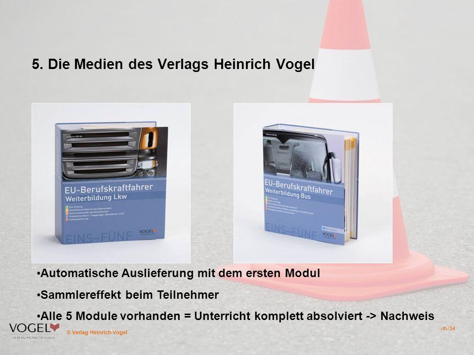 5. Die Medien des Verlags Heinrich Vogel
