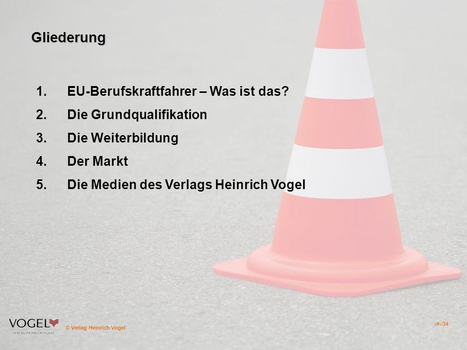 Gliederung EU-Berufskraftfahrer – Was ist das Die Grundqualifikation