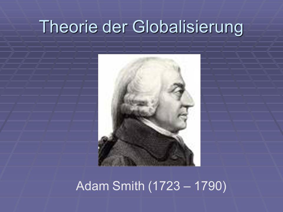 Theorie der Globalisierung