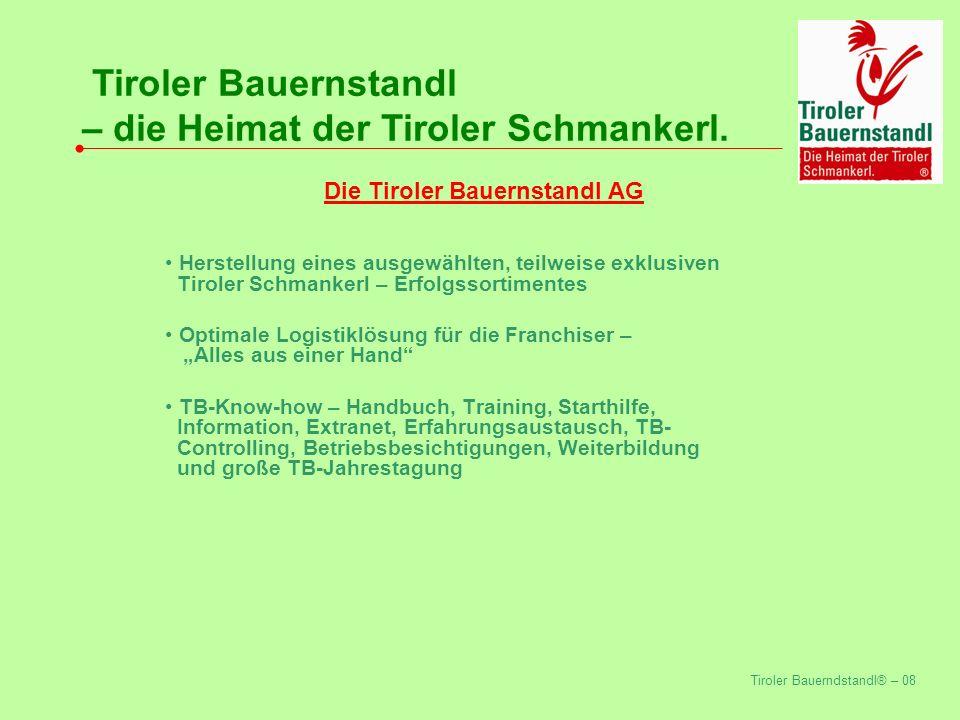 Die Tiroler Bauernstandl AG