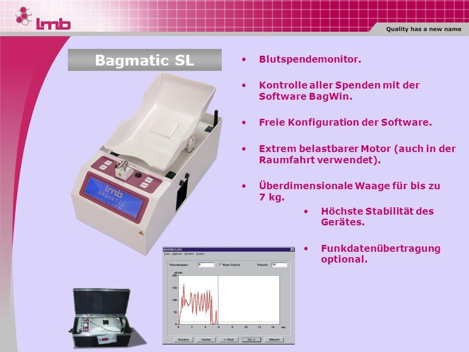 Bagmatic SL Blutspendemonitor.