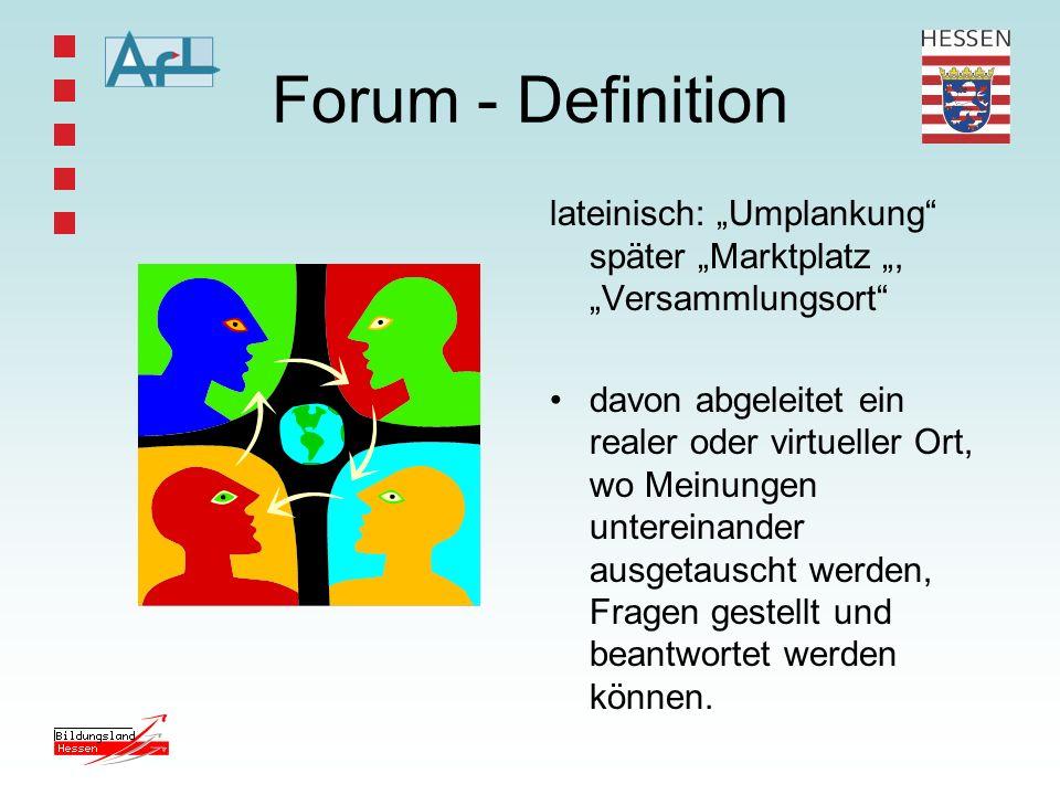 """Forum - Definition lateinisch: """"Umplankung später """"Marktplatz """", """"Versammlungsort"""