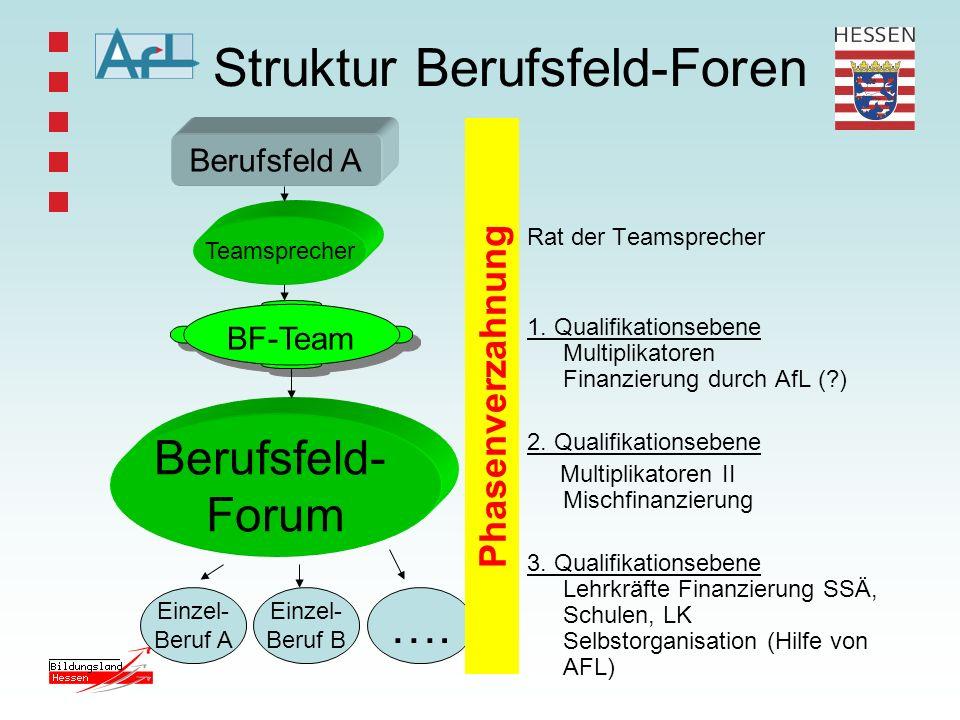 Struktur Berufsfeld-Foren