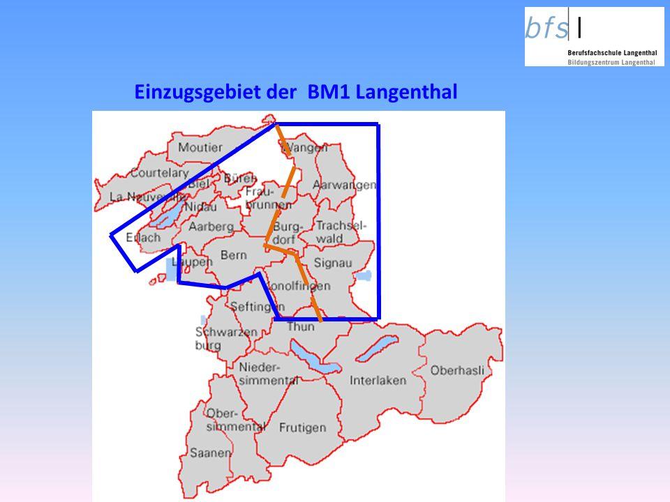 Einzugsgebiet der BM1 Langenthal