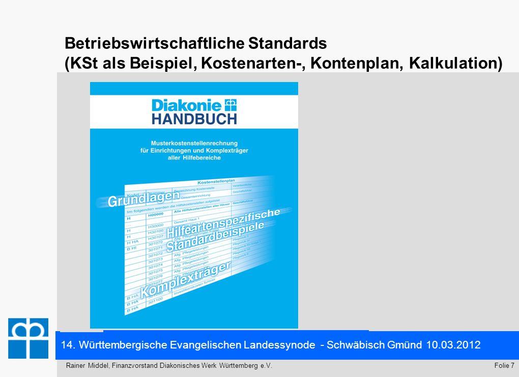 Betriebswirtschaftliche Standards