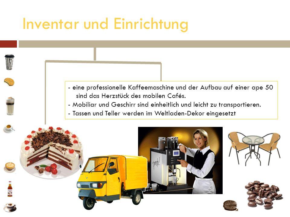 Inventar und Einrichtung