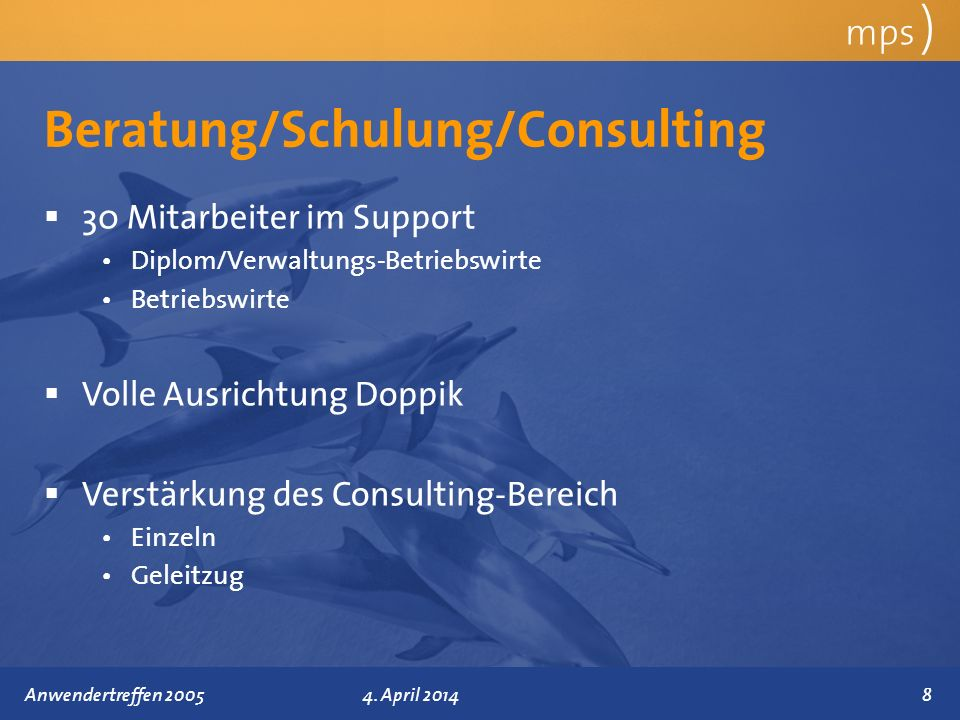 Beratung/Schulung/Consulting