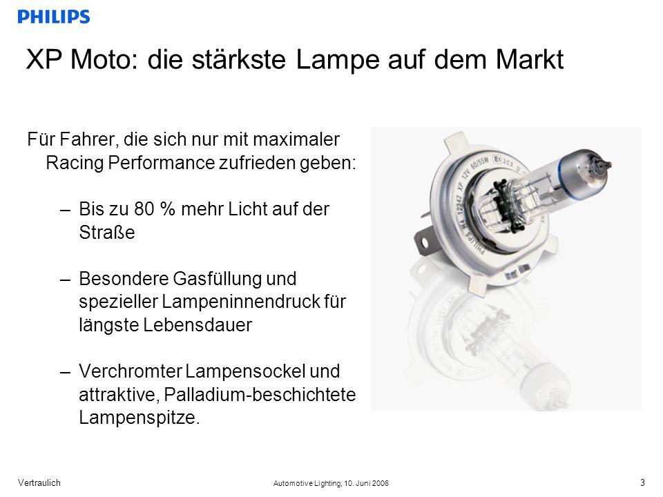 XP Moto: die stärkste Lampe auf dem Markt
